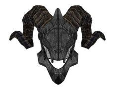 God of War III - Life Size Satyr Helmet for Cosplay Free Papercraft Download
