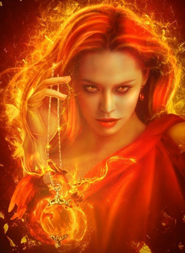 fire woman | fantasy | Fantasy art, Art und Mythology