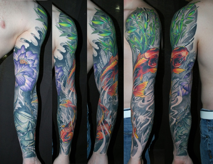 17 Best images about Sleeve Tattoos on Pinterest | Leeds