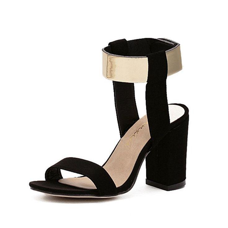 Gabriella Gold Plated Chunky Heel