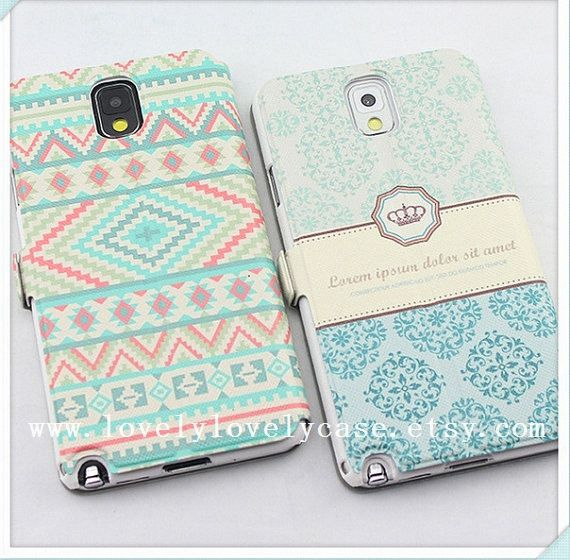 samsung note 3 flip case samsung galaxy note 3 by lovelylovelycase