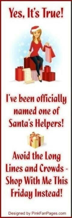 I am the Santa's Helper. As a Mary Kay Beauty Consultant I can assist you... Please let me know what you would like, what are your wishes or needs!!!