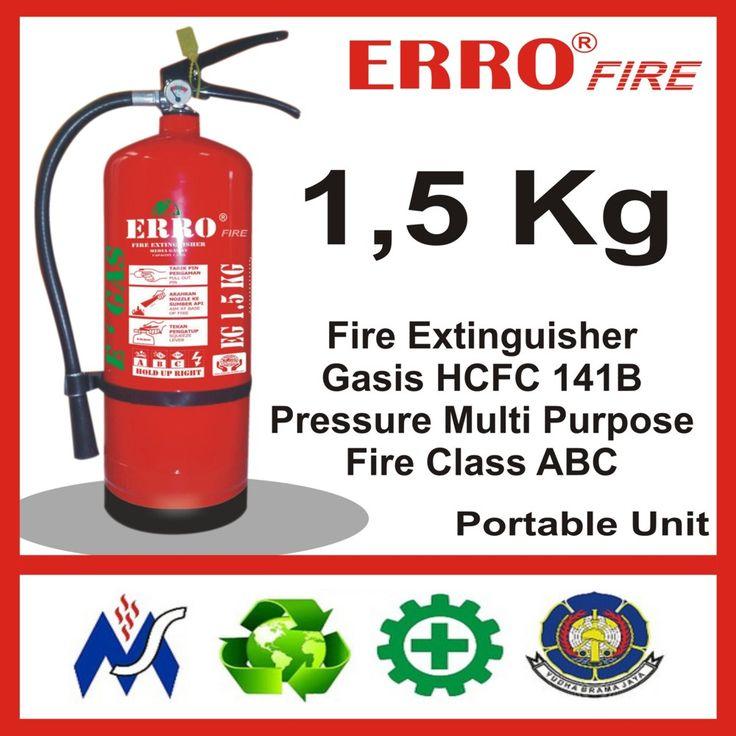 Alat Pemadam Kebakaran Gasis Pengganti Hallon 1.5 Kg | Tabung Apar