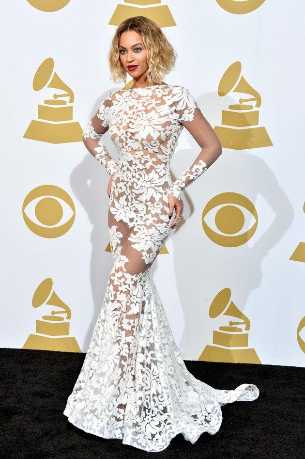 Beyoncé aux Grammys 2014
