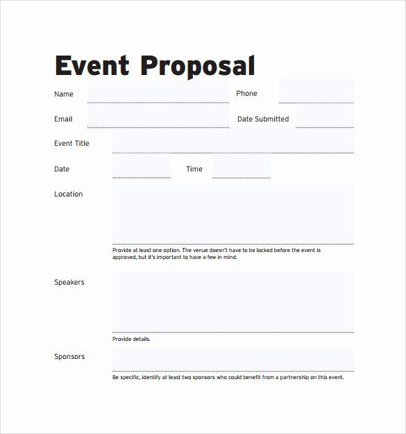 Event Planning Proposal Template Elegant Free 30 Sample Event Proposal Templates Psd Event Planning Proposal Event Proposal Template Event Proposal
