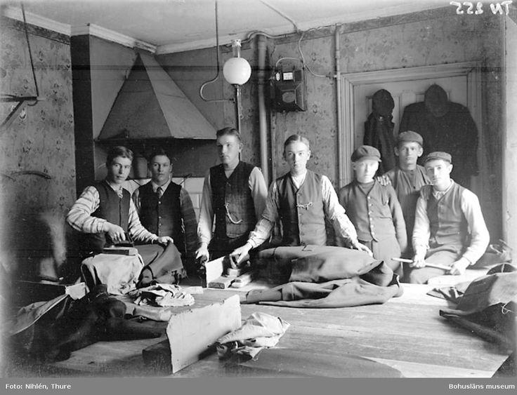 Pressare Schwartzman & Nordström. Fotograf: Thure Nihlén, 1907