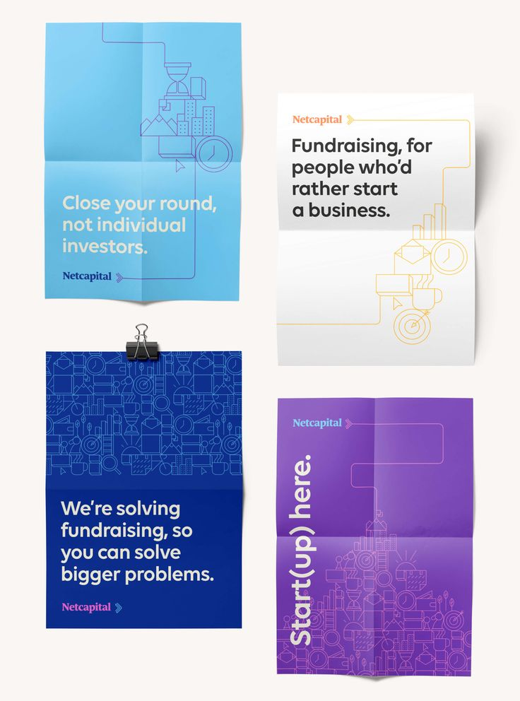 Heco developed the brand strategy, identity, key messages and collateral for Netcapital.