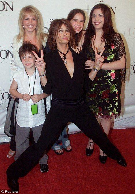 Steven Tyler Wife   Steven Tyler's family 'furious' over engagement to Erin Brady... who ...