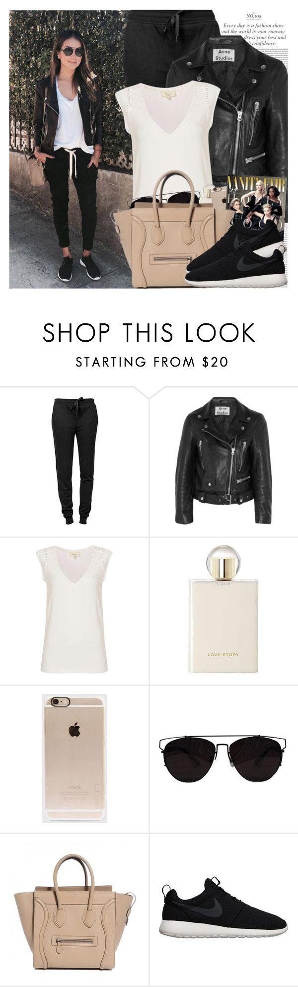 """""""2270. Blogger Style: Sincerely, Jules"""" by chocolatepumma ❤ liked on Polyvore featuring Oris, T By Alexander Wang, Acne Studios, Linea Weekend, Chloé, Incase, Retrò and NIKE"""
