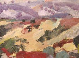 Ross Laurie - Ochre Hut I (detail)