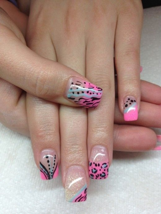 Nail Art Designs Gallery 2014 Absolute Cycle