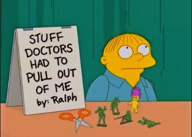 Oh, Ralph. This is why you're my favorite Simpsons Child.
