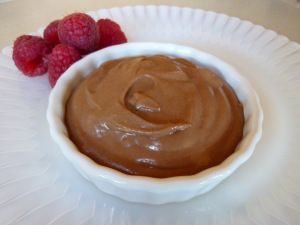 Chocolate Pudding - Hard to classify this one as a dessert. It's so healthy you can eat it anytime. Even for Breakfast.  #cleaneating #paleo #glutenfree #protein #recipes #desserts #flourless #grainless #maximizedliving