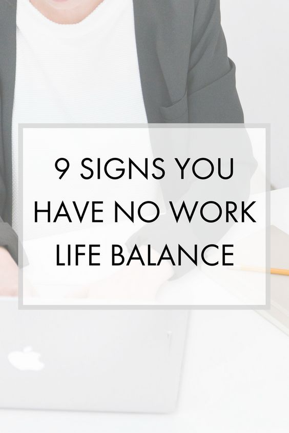 Signs you have no work life balance and are on the way to burn out. How can you stop yourself from burning out?