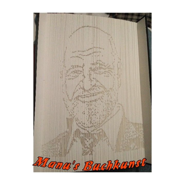 Mein Erster Portraitbuch Mit 687 Seiten 180 Und Schattenfaltung Ich Weigere Mich Standhaft Es Die Faule Faltung Zu Nennen Bucher Falten Bucher Falten
