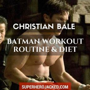BONUS: Download the FREE Christian Bale Batman Workout PDF We've seen A LOT of different body types from Christian Bale - and we know he has a talent for getting into awesome shape for his given roles...! BUT, his Batman physique is really freakin'impressive. One thing I want to point out is the f…