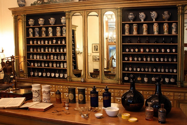 Apothecary    		The amazing collection of historical apothecaries at the Bergisches Museum in Schloss Burg, Burg an der Wupper, Germany