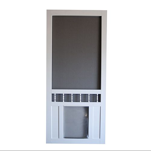 screen door with dog door built in | Dog Screen Door, Southport | Screen Tight