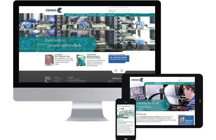 Wir haben ein völlig neues und modernes Corporate Design für die CLEMENS GmbH entwickelt und umgesetzt. ➤ Hier mehr sehen!