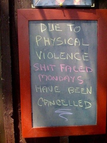 Too bad...Happy Hour, Pub Signs, Face Mondays, Funny Signs, Funny Pictures, Funny Stuff, Chalkboards Signs, Signs Languages, Bar Signs