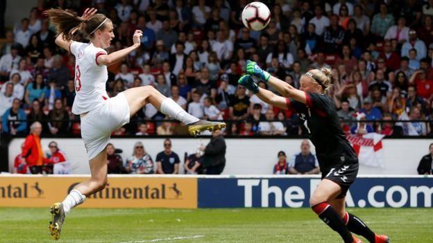 Phil Neville England Women S Win Over Denmark Messy Phil Neville England Goals Bbc Football