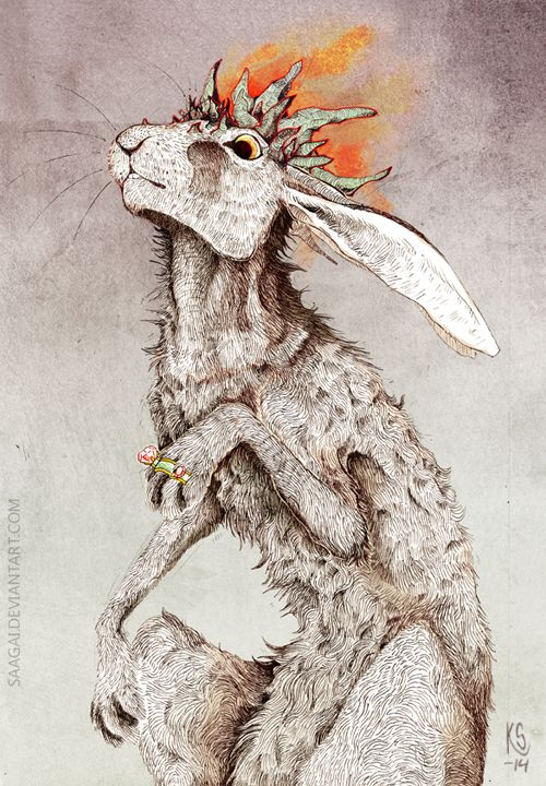 It's the hare king
