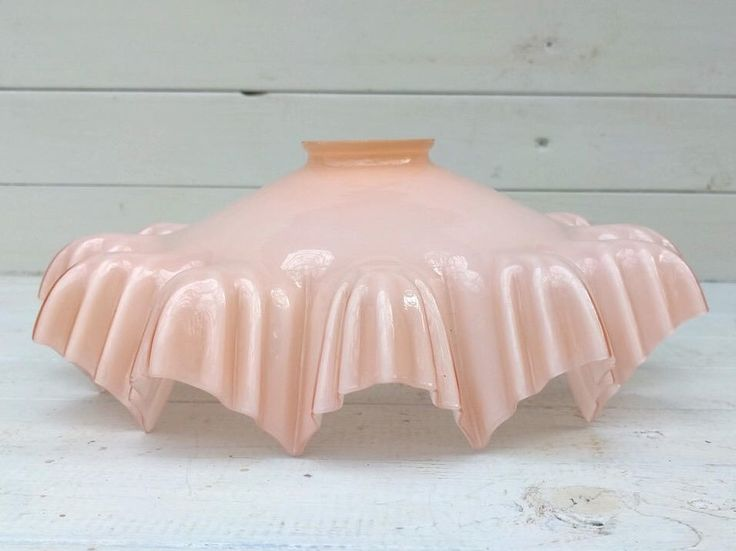 Pink Opaline Shade, Art Deco 1920's Lampshade, Milk Glass Lamp Shade, Vintage French Chic Pendant Light, Antique Ceiling Light Shade by UneChoseFrancaise on Etsy https://www.etsy.com/listing/522516585/pink-opaline-shade-art-deco-1920s