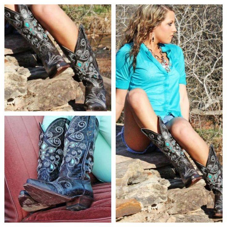 Dusty Rocker Boots https://www.facebook.com/TwistedAngelClothing?ref=hl