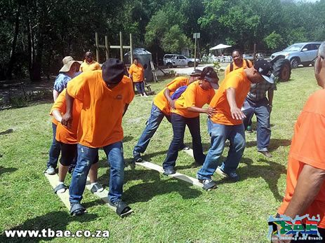 SA Mini Olympics team building exercise is one of the team building activities coordinated and facilitated by TBAE.