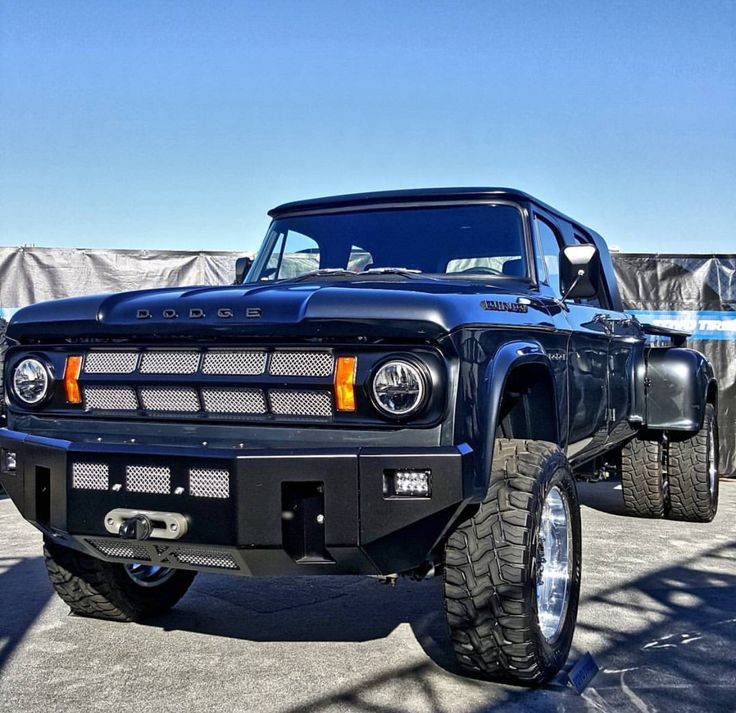 Dodge Sweepline crew cab dually                                                                                                                                                                                 More