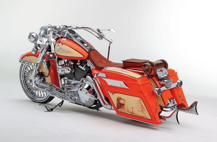 2005 Harley Davidson Road King Side View 01 #harleydavidsonroadkingmotorcycles #harleydavidsonstreetbobber