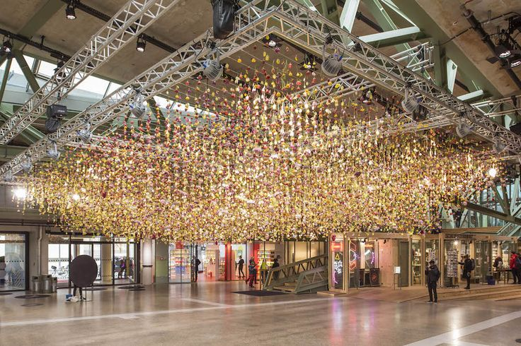 A Deconstructed Garden Suspended in the Air by Rebecca Louise Law