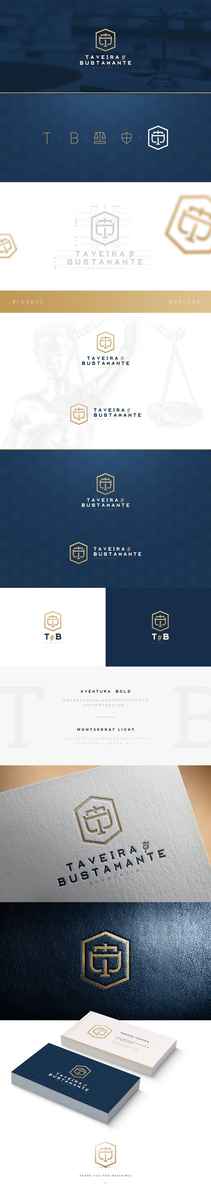 """Check out this @Behance project: """"Taveira e Bustamante Advocacia"""" https://www.behance.net/gallery/43158087/Taveira-e-Bustamante-Advocacia"""