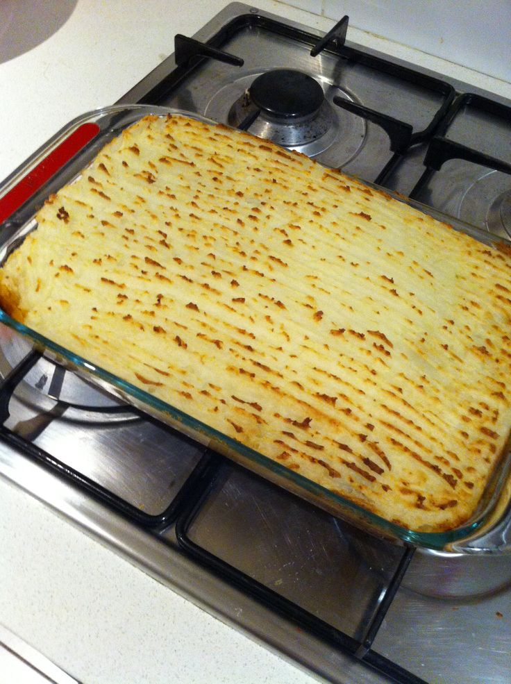 Gordon Ramsey's Shepherd's Pie