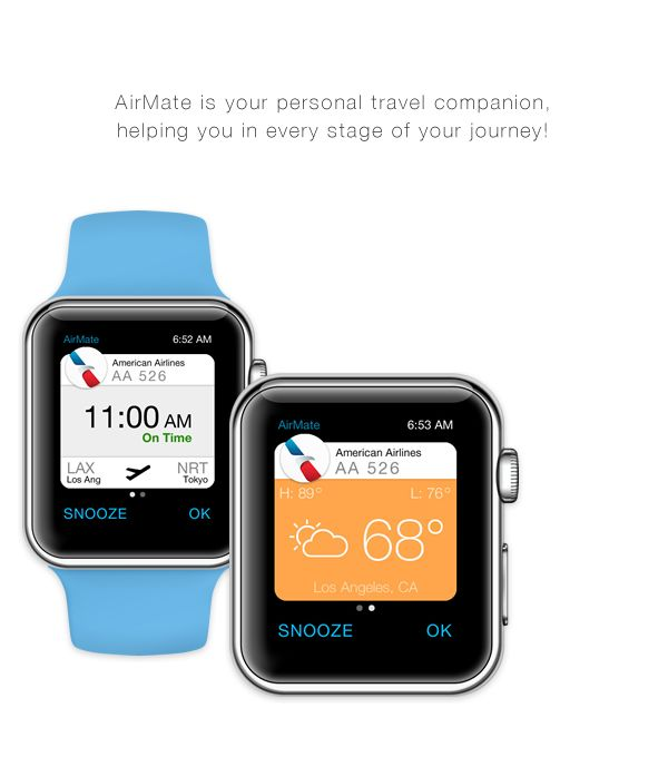 Apple Watch Travel Companion on Behance