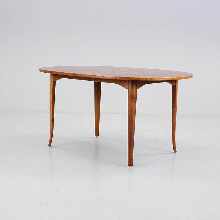"""CARL MALMSTEN, """"Ovalen"""", soffbord, 1900-talets andra hälft."""