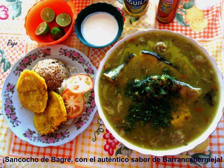 Colombia - Delicioso sancocho de bagre en Barrancabermeja, Santander.