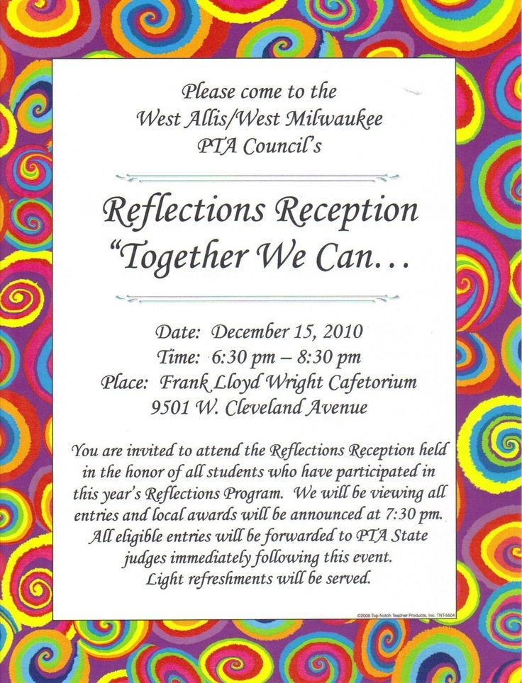 pta reflections award certificate - Google Search