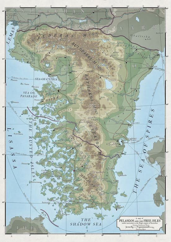 map in the atlas elyden is complete after wasting too much time on the topography for the korachan map most of my work was ready on this one so it