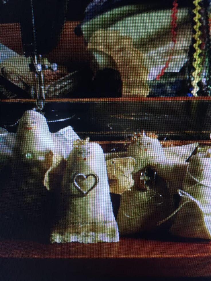 Linen angels