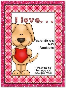 This mini booklets are great for students to show who they love this valentines day. They trace the sentence, draw a picture to match, then assemble the booklet.   Included are: *I love my mom *I love my dad *I love my brother *I love my sister *I love my grandmother *I love my grandfather *I love my family *I love my pet *I love my friend *I love my teacher *I love everybody!