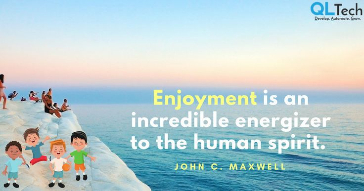 Enjoyment is an incredible energizer to the human spirit. John C. Maxwell #AskQL #holiday #inspiration #christmas #instalike #smile #flowers #instacool