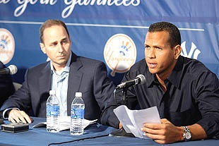 Aging Yankee Alex Rodriguez still waiting on scheduled date for hip surgery.
