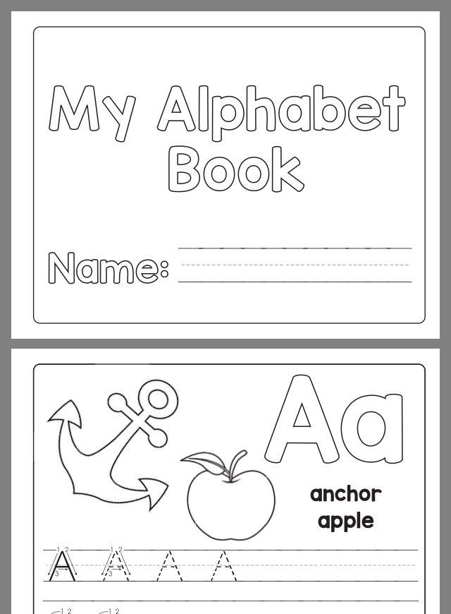 Pin By Hannah Henderson On Teachers Tips Alphabet Book, Letter Writing  Practice, Preschool Writing