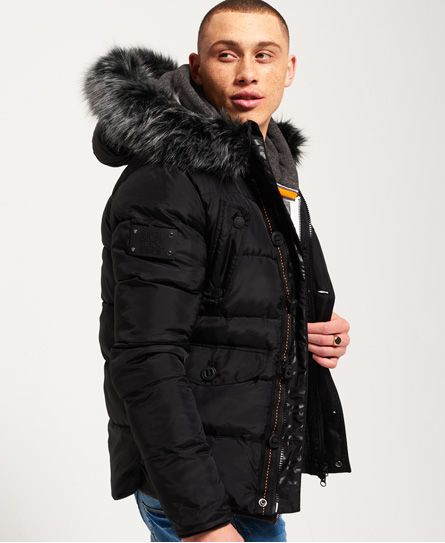 a86614976 Superdry Chinook Jacket - Black Edition Black | Style | Black ...