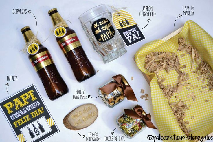 Beer kit / fathers day gift / gift ideas / regalos para papá / kit cerveza