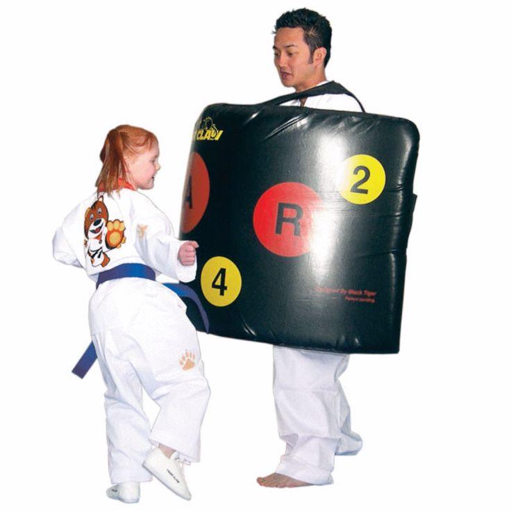 Blast master karate body kicking shield c1037