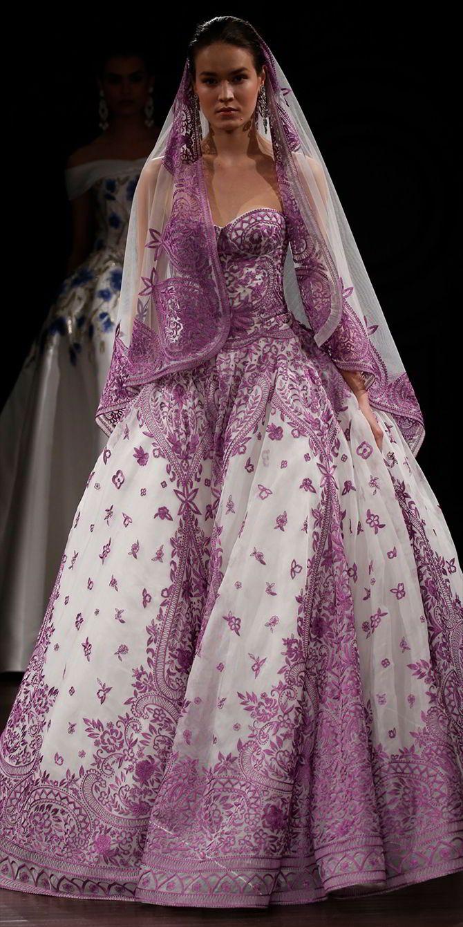 Mejores 48 imágenes de Colored Wedding Gowns en Pinterest | Vestidos ...