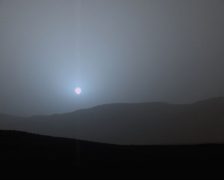 Picture of the Day: Sunset on Mars