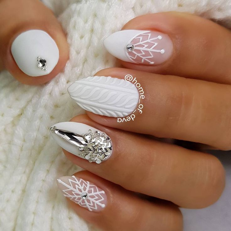 Best 25+ Winter nails ideas on Pinterest | Matte nail ...
